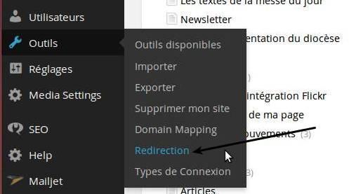 redirection-menu